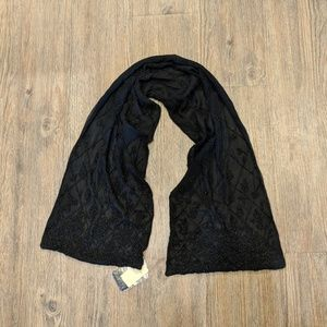Black beaded scarf from Ann Taylor